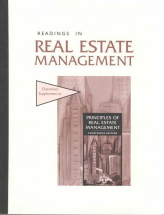Readings in Real Estate Management
