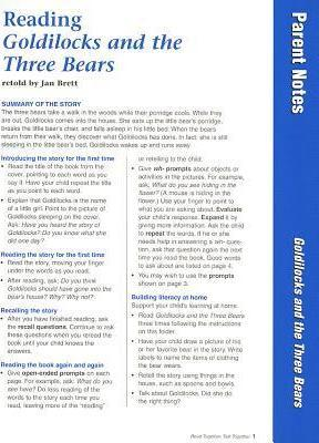 Reading Goldilocks and the Three Bears