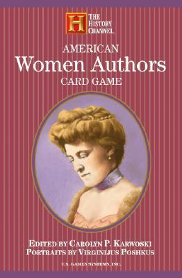American Women Authors Card Game