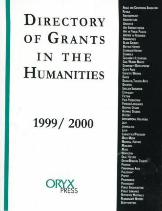 Directory of Grants in the Humanities 1999-2000
