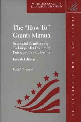 """How to"" Grants Manual"