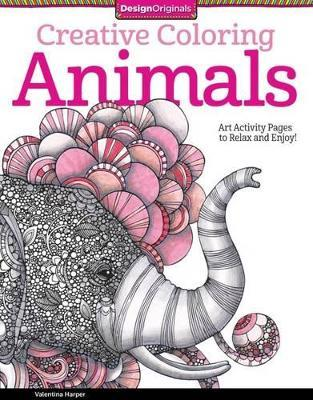 Creative Coloring Animals Valentina Harper 9781574219715