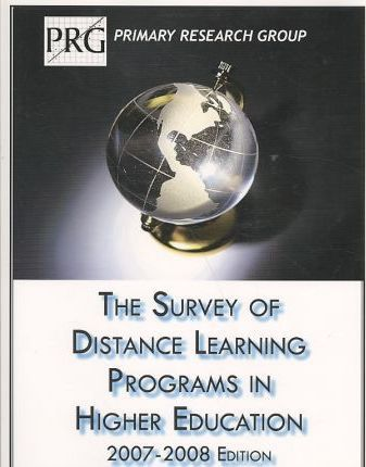 The Survey of Distance Learning Programs in Higher Education, 2007-08