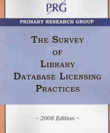 Survey of Library Database Licensing Practices