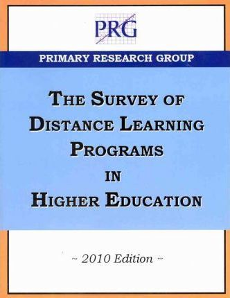 The Survey of Distance Learning Programs in Higher Education 2010