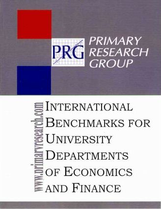 International Benchmarks for University Departments of Economics & Finance