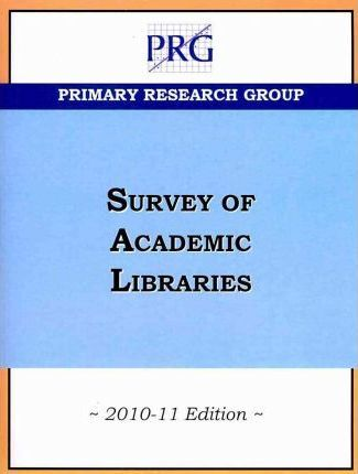 The Survey of Academic Libraries 2010-11