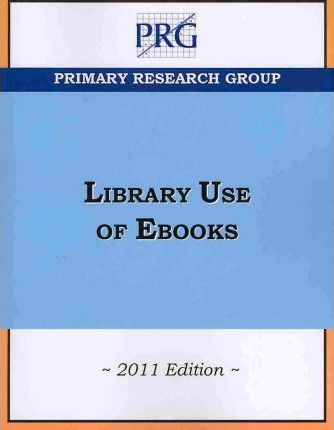 Library Use of Ebooks, 2011