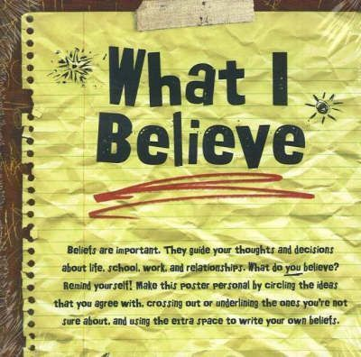 What I Believe Poster (Pack of 20)