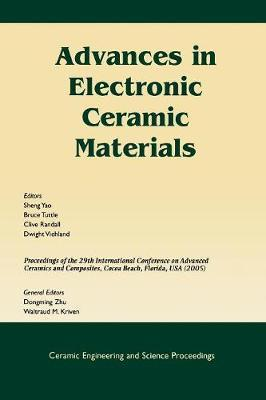 Advances In Electronic Ceramic Materials Dongming Zhu