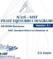 2006 ACerS-NIST Phase Equilibria Diagrams CD-ROM Database Version 3.1