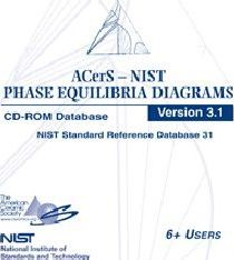 2007 ACerS-NIST Phase Equilibria Diagrams CD-ROM Database Version 3.1