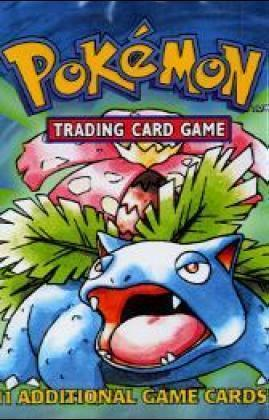 Pokemon: Jungle Overwrap Booster