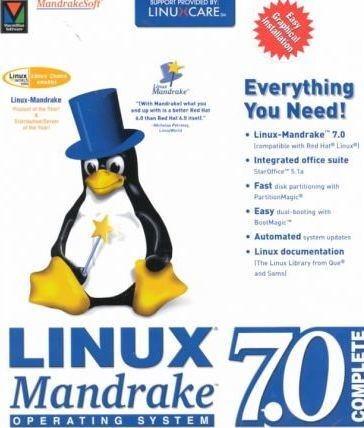 Linux Mandrake Operating System 7.0 Complete