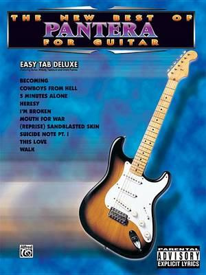 The New Best of Pantera for Guitar : Louis Martinez : 9781576239605