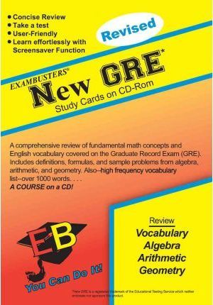New GRE Exambusters CD-ROM Study Cards : Ace Academics Inc