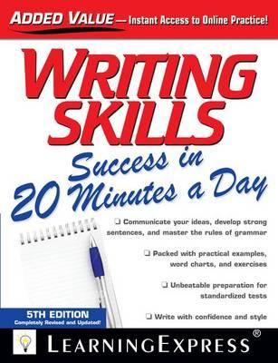 reading comprehension success in 20 minutes a day llc learning express