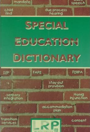 Special Education Dictionary