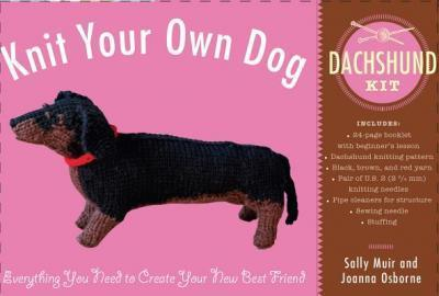 Knit Your Own Dog: Dachshund Kit