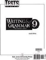Writing And Grammar 9 Test Pack