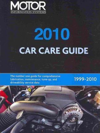 Motor Car Care Guide 2010