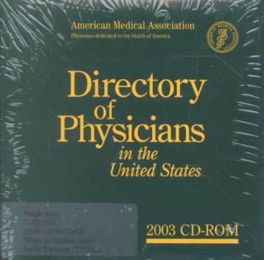 Directory of Physicians in the United States 2003