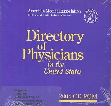 Directory of Physicians in the United States 2004