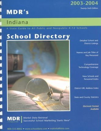 Mdr's School Directory Indiana 2003-2004