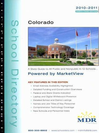 MDR's Colorado School Directory 2010-2011