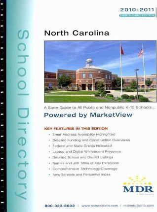 Mdr School Directory North Carolina 2010-2011