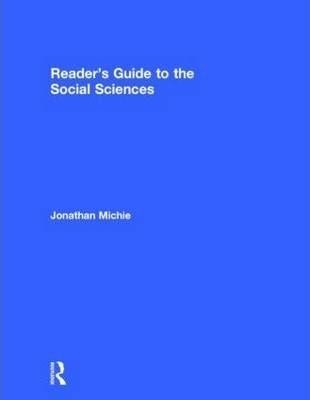 Book jacket for Reader's Guide to the Social Sciences