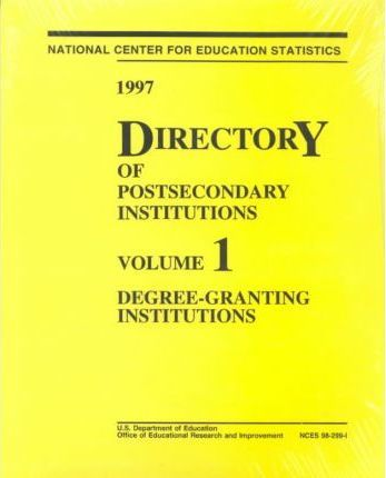 1997 Directory of Postsecondary Institutions
