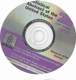 Statistical Abstract of the United States, 1999