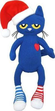 Pete The Cat Saves Christmas.Pete The Cat Saves Christmas Doll Eric Litwin 9781579823078