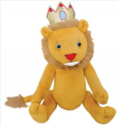 "Henry & Leo the Lion Doll : 15"" Standing"