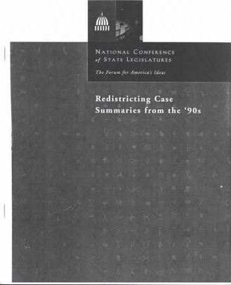Redistricting Case Summaries from the 90s
