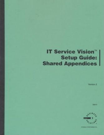 It Service Visionsetup Guide