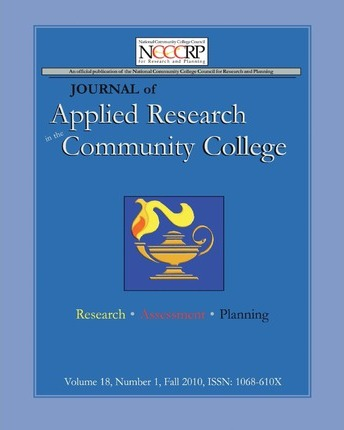 Journal of Applied Research in the Community College: Volume 18, Number 1, Fall 2010