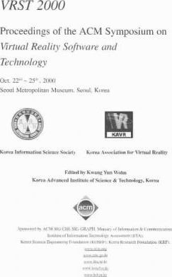 Vrst 2000 Proceedings of the Acm Symposium on Virtual Reality Software