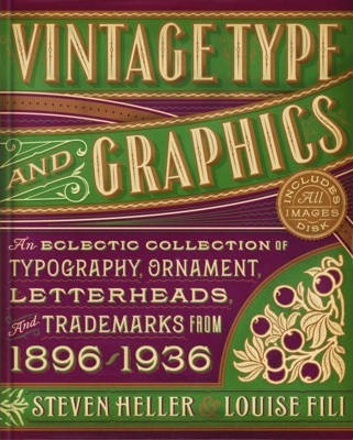 Image result for vintage type and graphics book