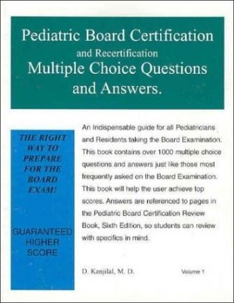 Pediatric Board Certification and Recertification Multiple