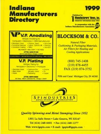 1999 Indiana Manufacturers Directory