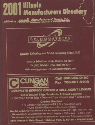 2001 Illinois Manufacturers Directory