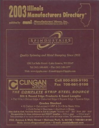 2003 Illinois Manufacturers Directory