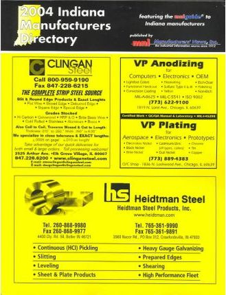 2004 Indiana Manufacturers Directory