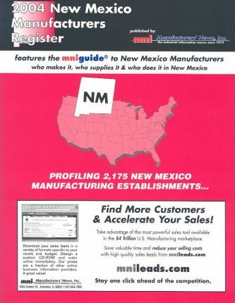 2004 New Mexico Manufacturers Register