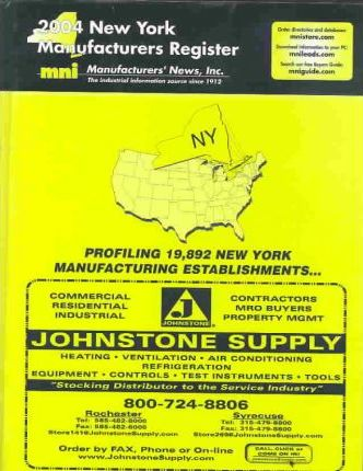 2004 New York Manufacturers Register