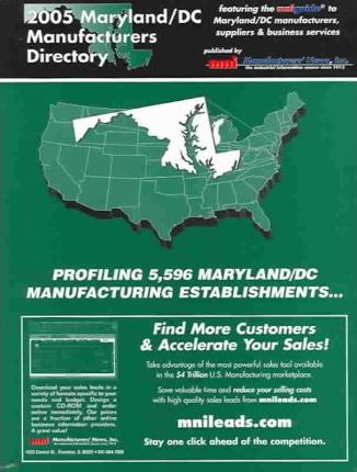 2005 Maryland/D.C. Manufacturers Directory