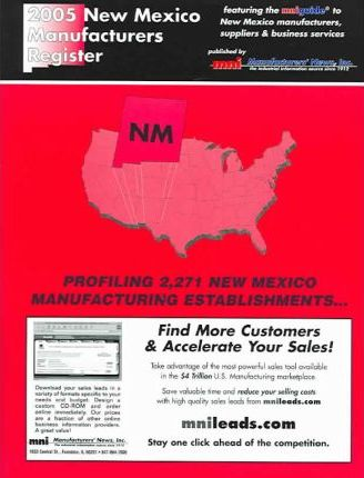 2005 New Mexico Manufacturers Register