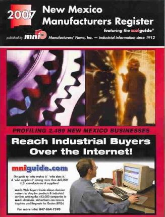 2007 New Mexico Manufacturers Register